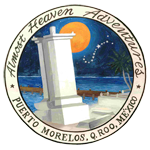 Puerto Morelos's Almost Heaven Adventures Logo since 1994