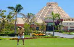 The Golf Course Playa Paraiso Golf Club at the Iberostar Playa Paraiso Resort is 8 minutes from Playa Del Secreto