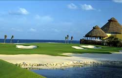 El Camaleon Golf Course at Mayakoba is host to Mexico's Only PGA TOUR Event