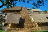 Puerto Morelos Secret Beach Villas guest visit Ek Balam Mayn Ruins in private van