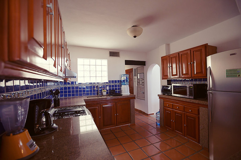 Puerto Morelos |Secret Beach Villas | Fish Villa | Kitchen with Granite and Stainless