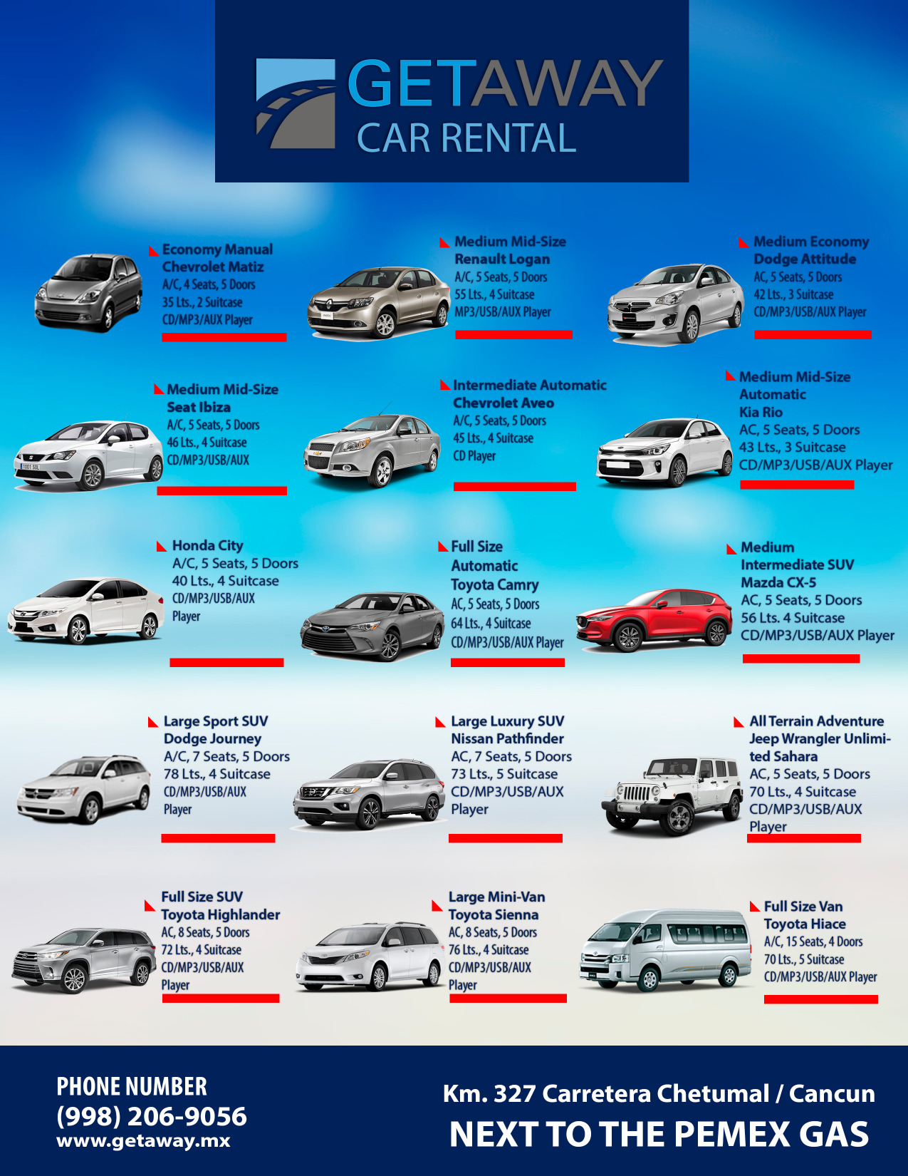 Car Rental Quotes Get Your Puerto Morelos Car Rental Quote Here