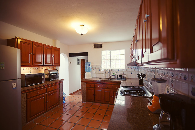 Puerto Morelos |Secret Beach Villas | Shell Villa | Kitchen with Granite and Stainless