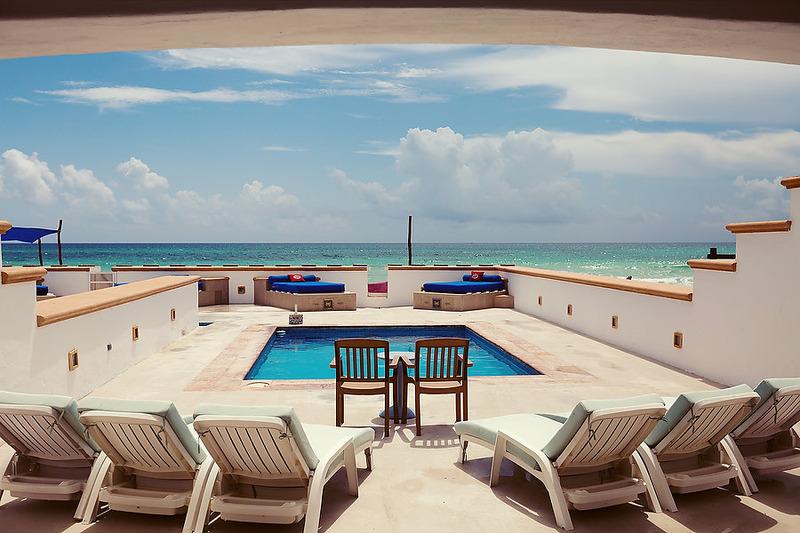 Puerto Morelos Secret Beach Villas Shell Villa View Of Pool Tanning Beds