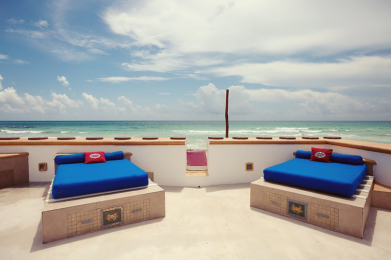 Puerto Morelos |Secret Beach Villas | Shell Villa |a favorite of our guests is our tanning beds