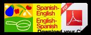 spanish to english food dictionary